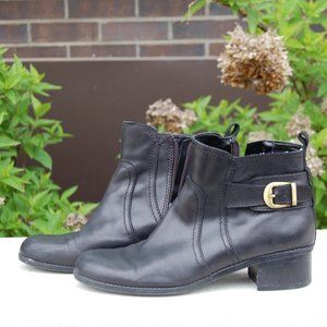Bandolino Bocarousel Leather Ankle Boots